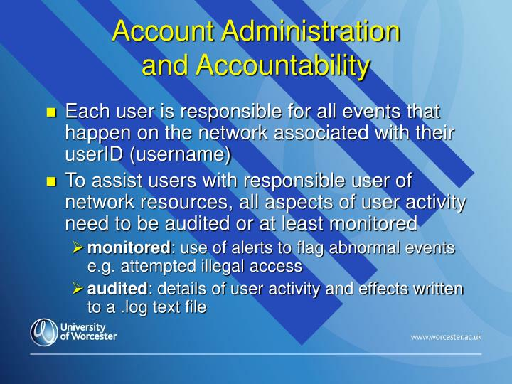 Account Administration