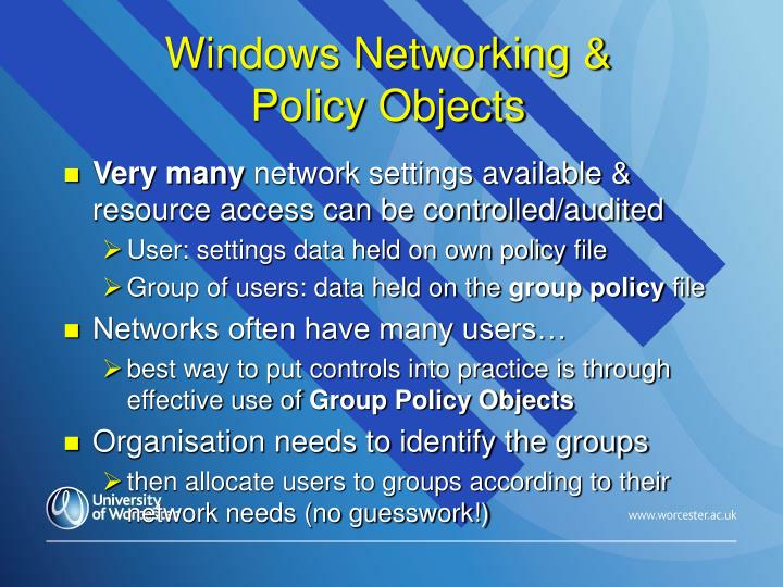 Windows Networking &
