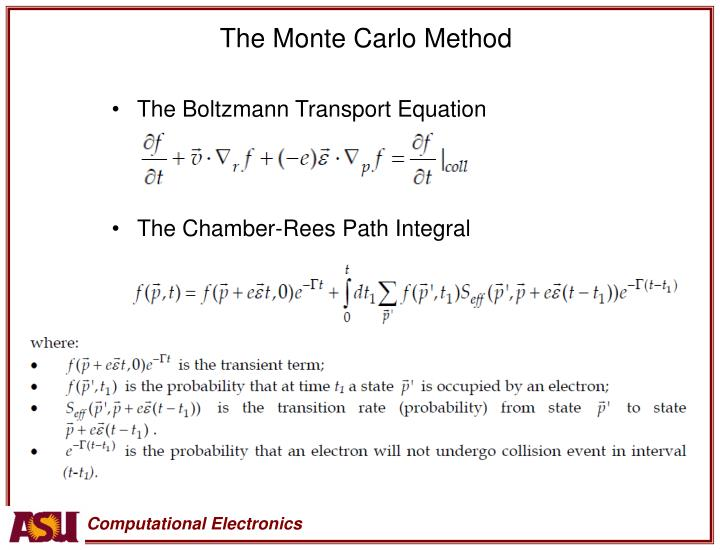 The Monte Carlo Method