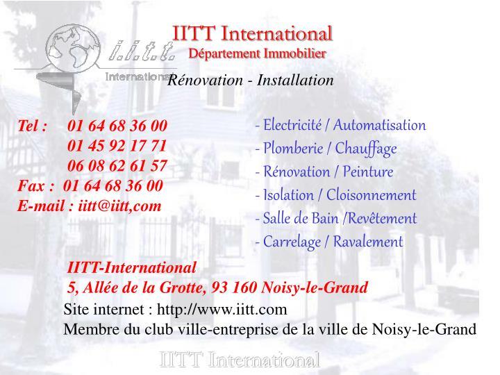 IITT International