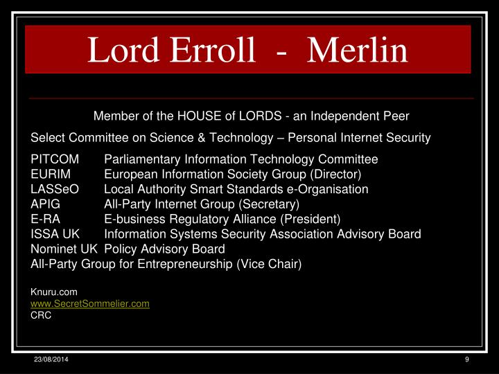 Lord Erroll  -  Merlin