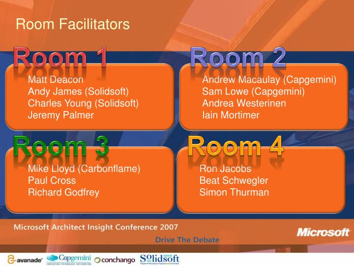 Room Facilitators
