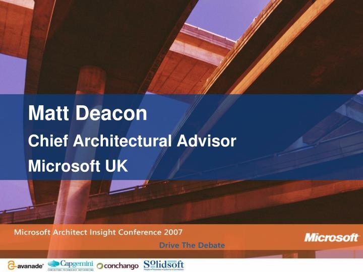 Matt Deacon