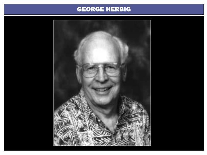 GEORGE HERBIG