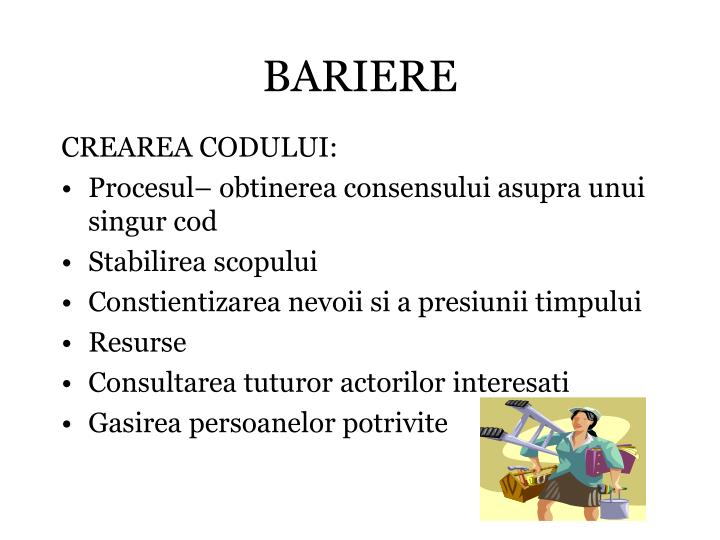 BARIERE