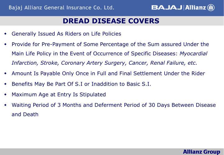 DREAD DISEASE COVERS