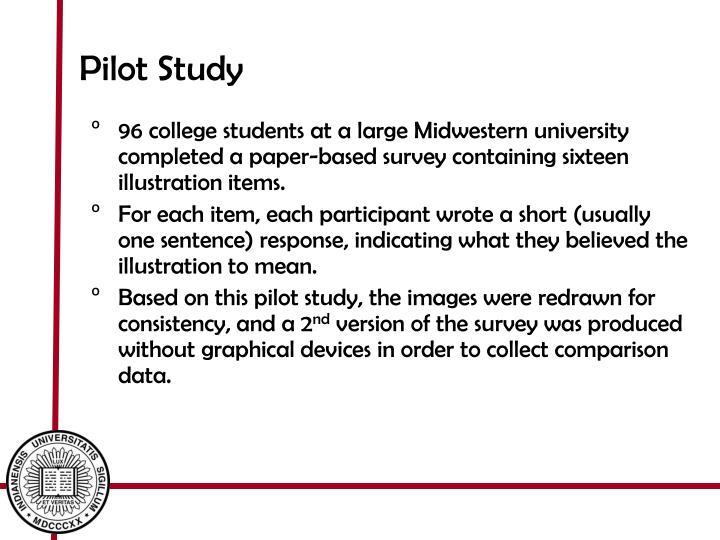 Pilot Study