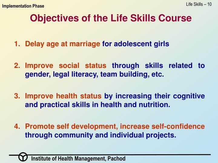 Life Skills – 10