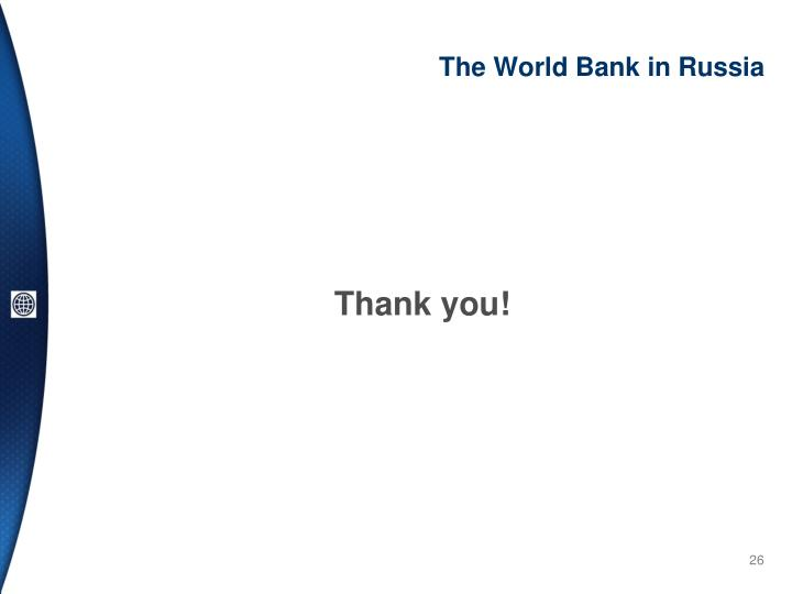 The World Bank in Russia