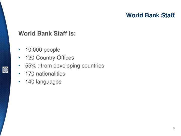 World bank staff
