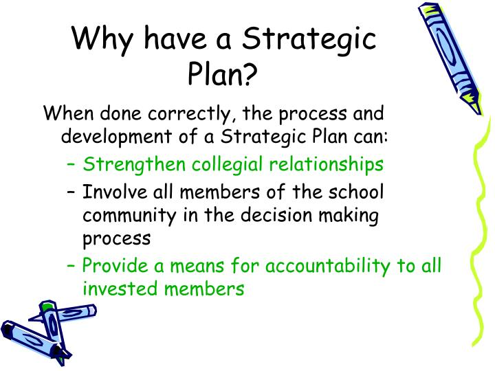 Why have a Strategic Plan?