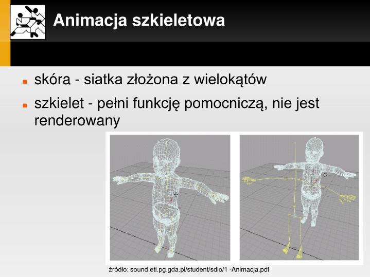 Animacja szkieletowa