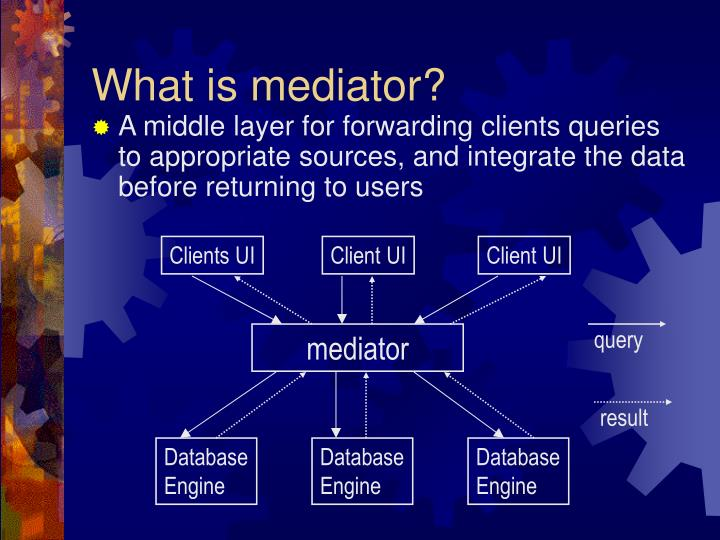 What is mediator?