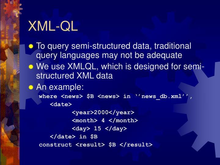 XML-QL