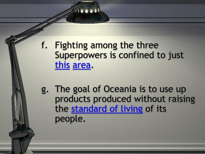 Fighting among the three Superpowers is confined to just