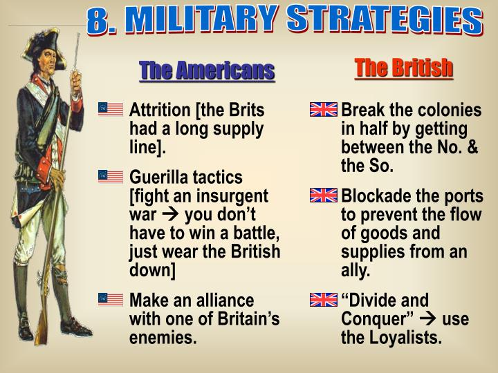 8. MILITARY STRATEGIES