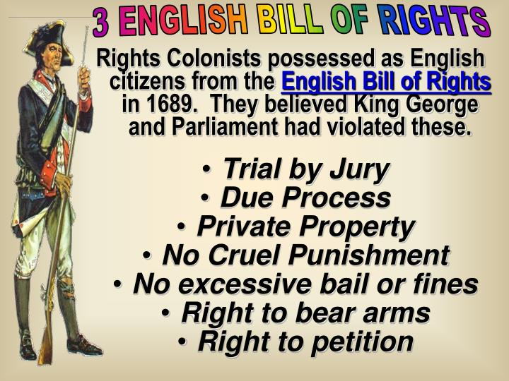 3 ENGLISH BILL OF RIGHTS