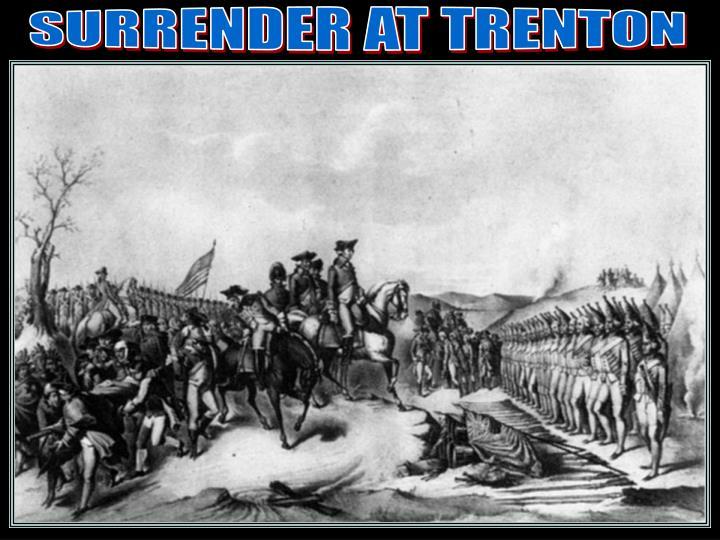 Surrender/trenton