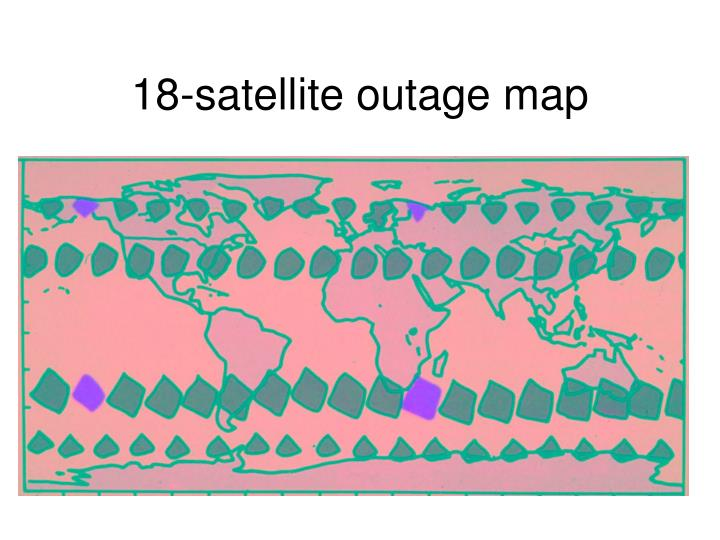 18-satellite outage map