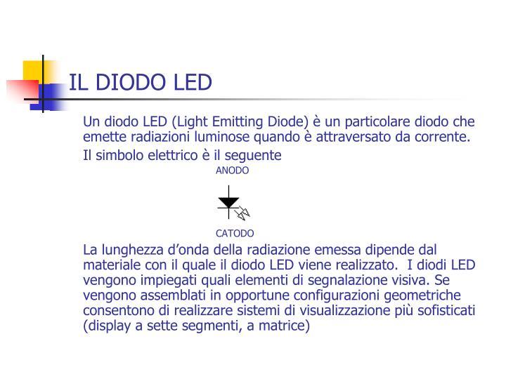 IL DIODO LED