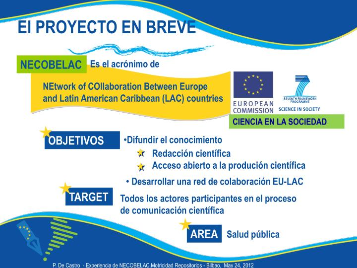 NEtwork of COllaboration Between Europe