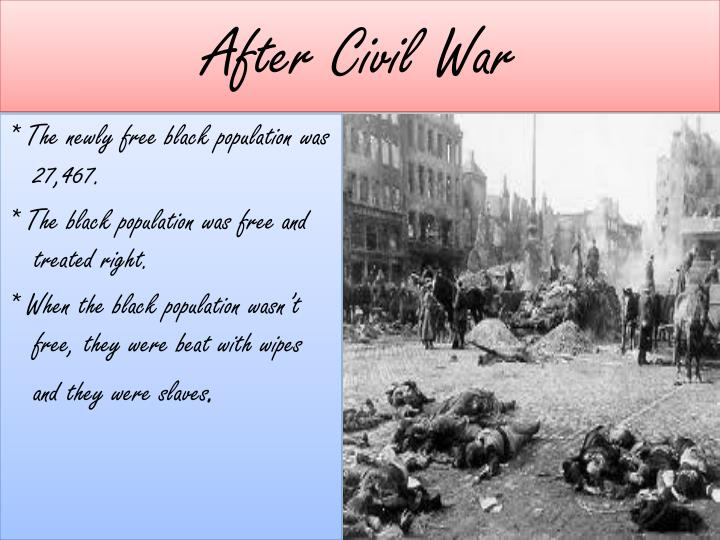 After Civil War