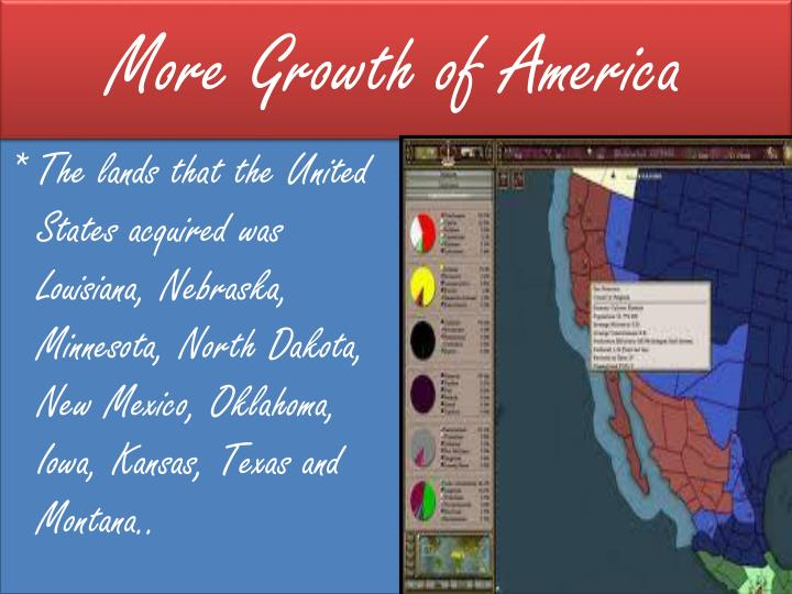 More Growth of America