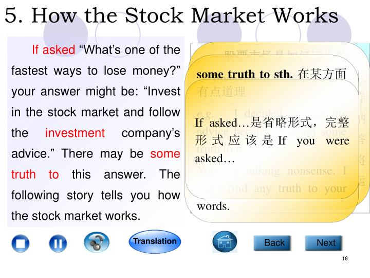 5. How the Stock Market Works