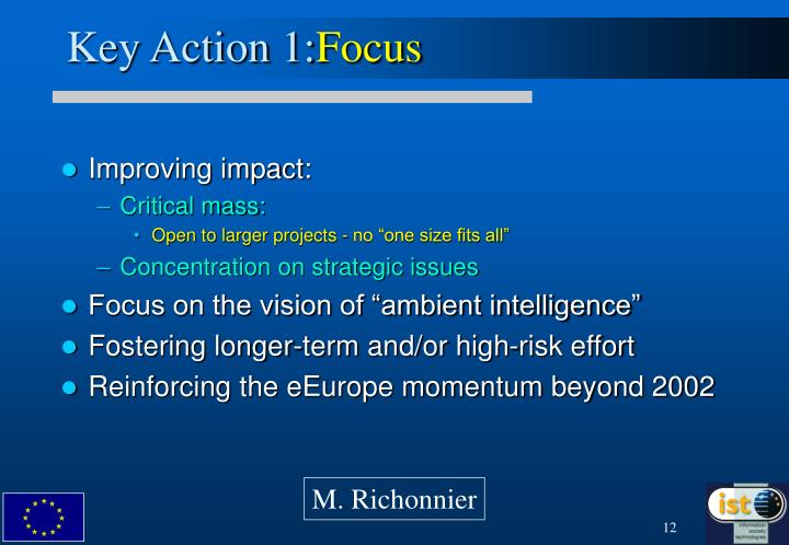 Key Action 1: