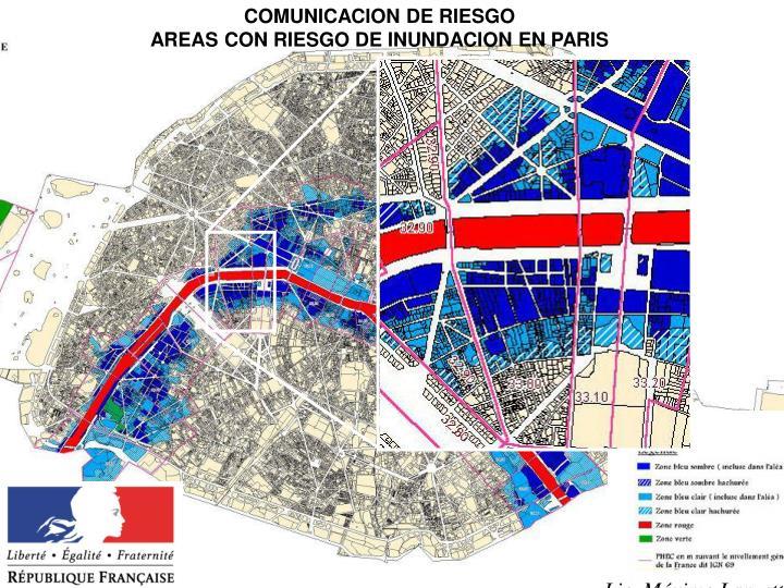 COMUNICACION DE RIESGO