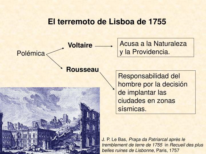El terremoto de Lisboa de 1755