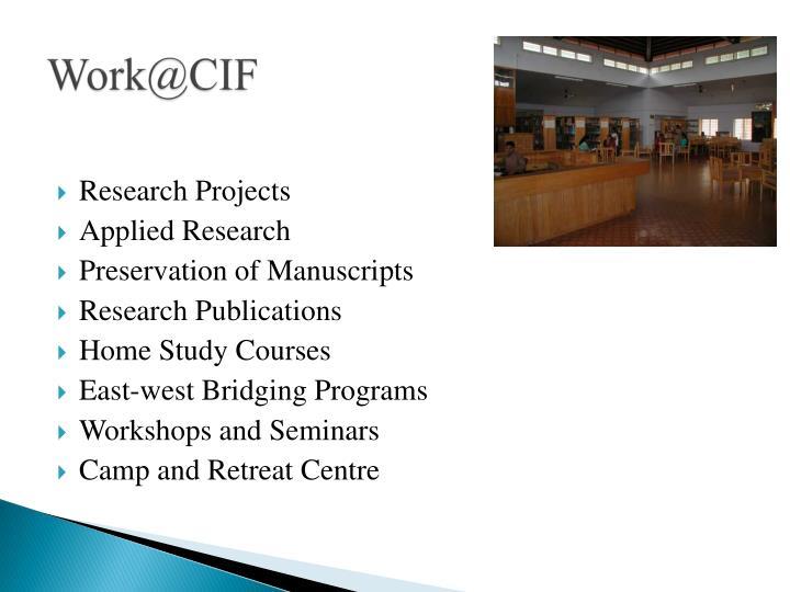 Work@CIF