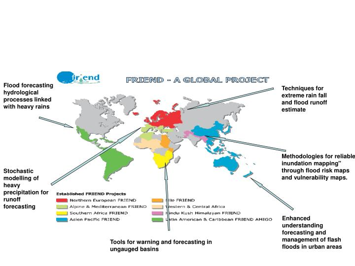 Flood activities of FRIEND regional groups