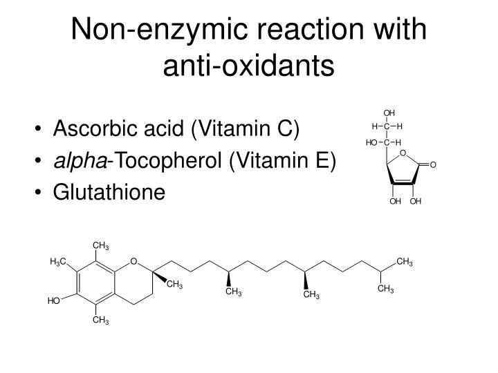 Non-enzymic reaction with