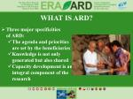 what is ard1