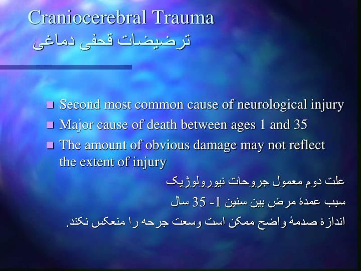 Craniocerebral Trauma
