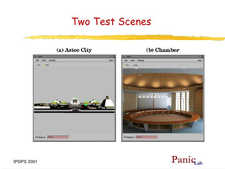 Two Test Scenes