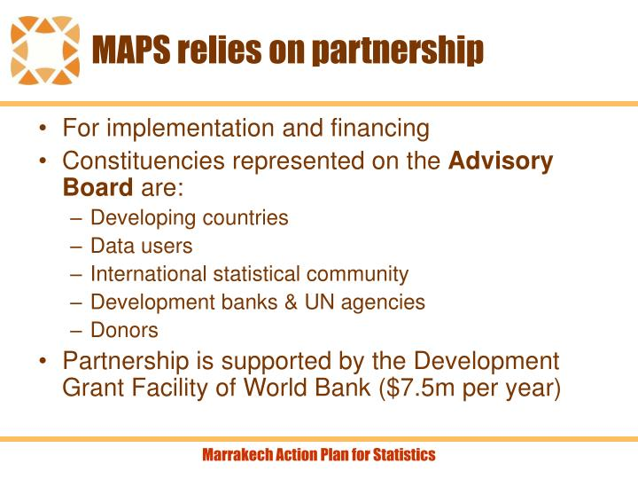 MAPS relies on partnership
