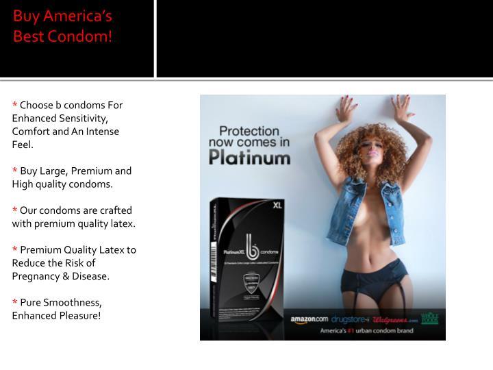 Buy America's Best Condom!