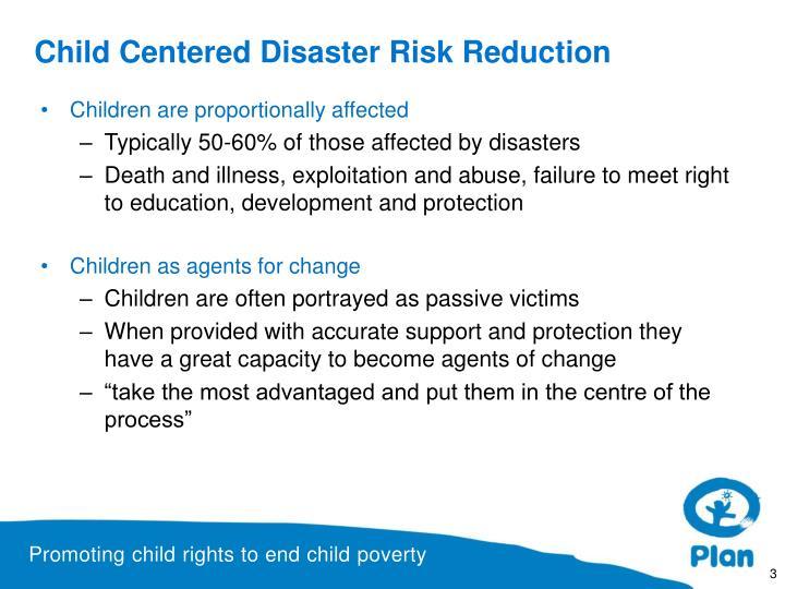 Child Centered Disaster Risk Reduction