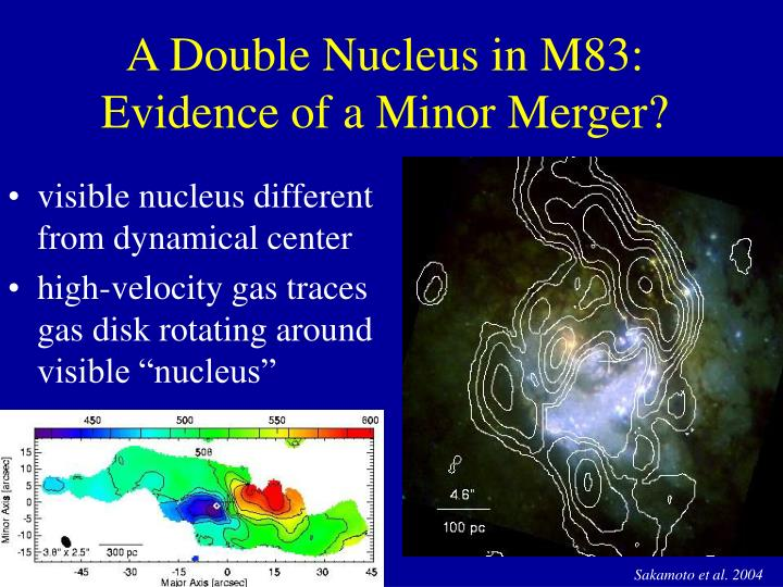 A Double Nucleus in M83: Evidence of a Minor Merger?