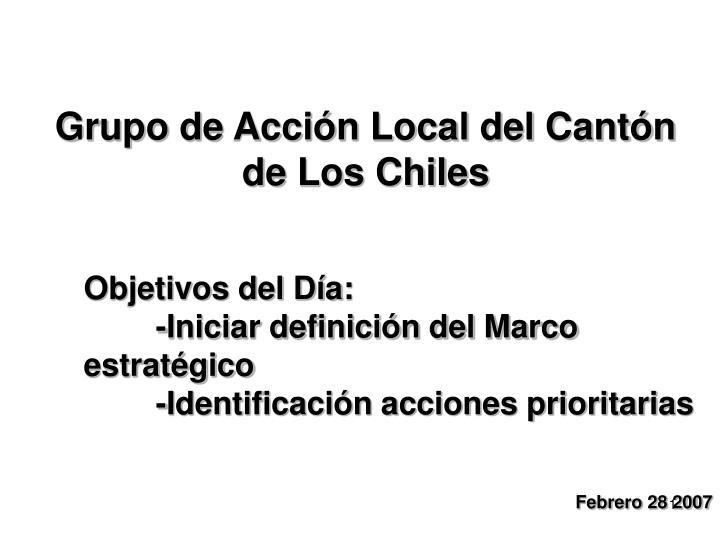 Grupo de Acción Local del Cantón de