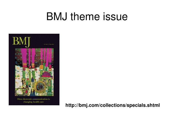 BMJ theme issue