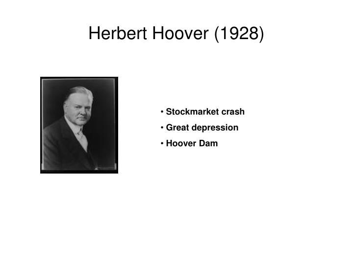 Herbert Hoover (1928)