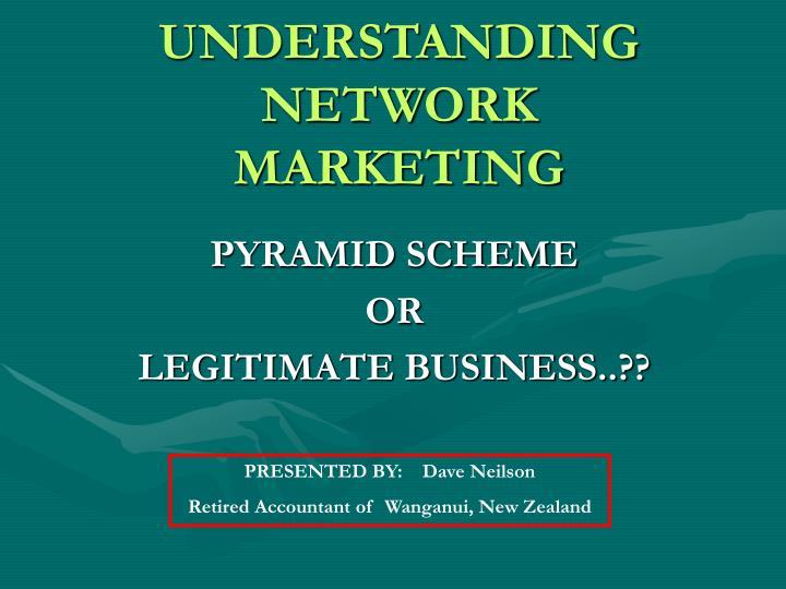 understanding network marketing