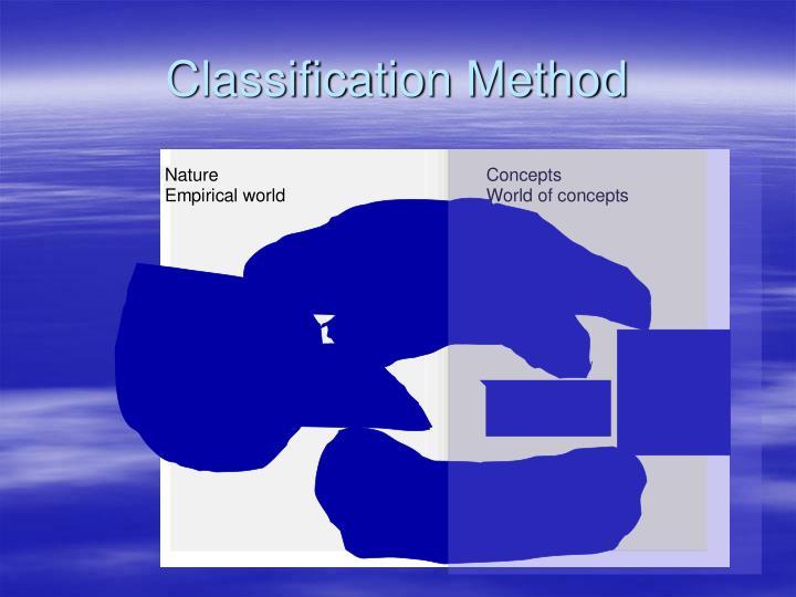 Classification Metho