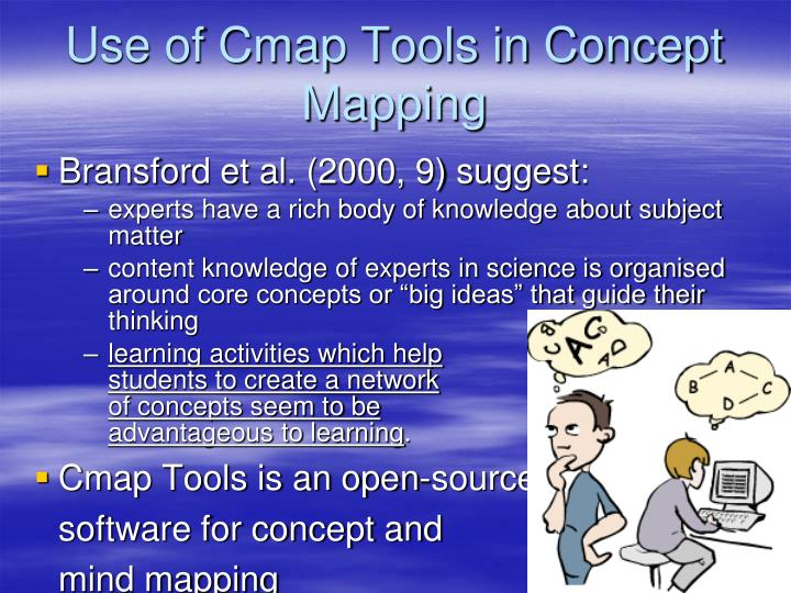 Use of Cmap Tools in Concept Mapping