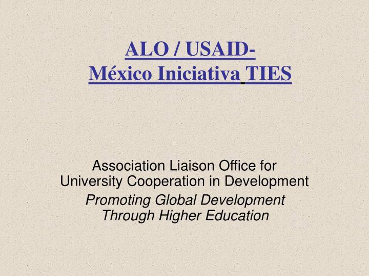 ALO / USAID-