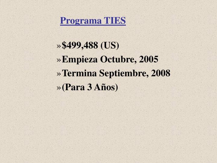 Programa TIES