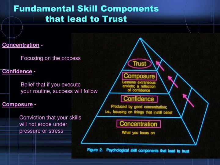 Fundamental Skill Components that lead to Trust